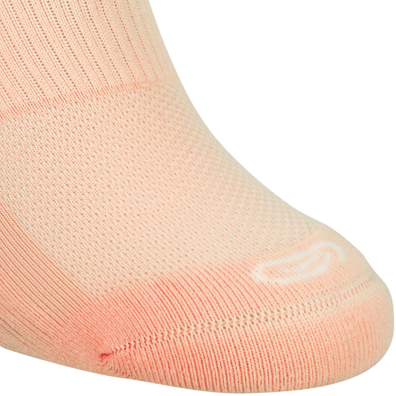 Invisible Comfort Socks X2 - Pink