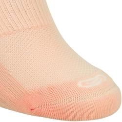 INVISIBLE COMFORT RUNNING SOCKS 2-pack - CORAL