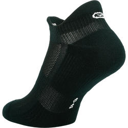 INVISIBLE COMFORT RUNNING SOCKS 2-pack - BLACK