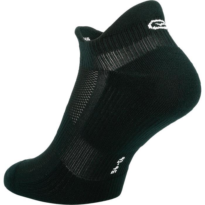 Laufsocken Komfort inivisible schwarz 2 Paar