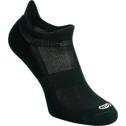Calcetines Running Kalenji Confort Adultos Negro Invisibles x2