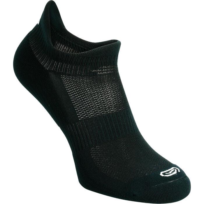 Onzichtbare hardloopsokken Comfort zwart X2