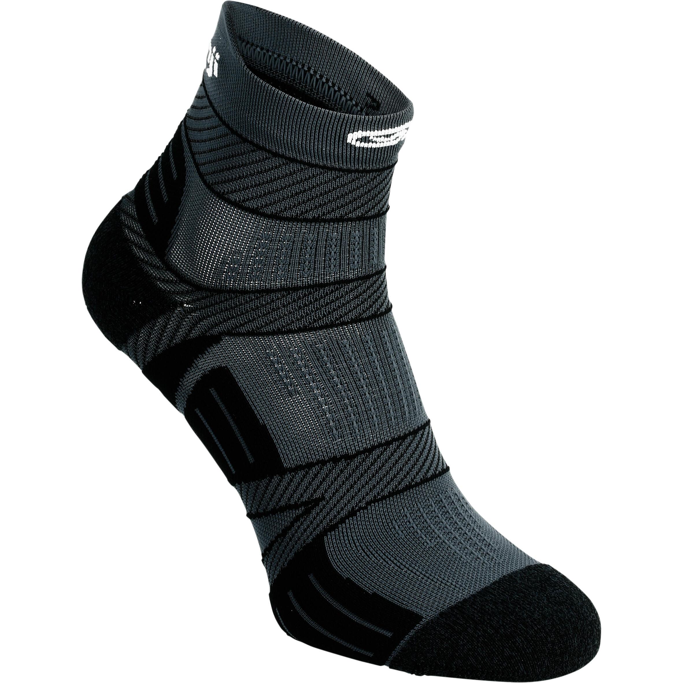 Kalenji Dunne sokken Kiprun Strap zwart kopen