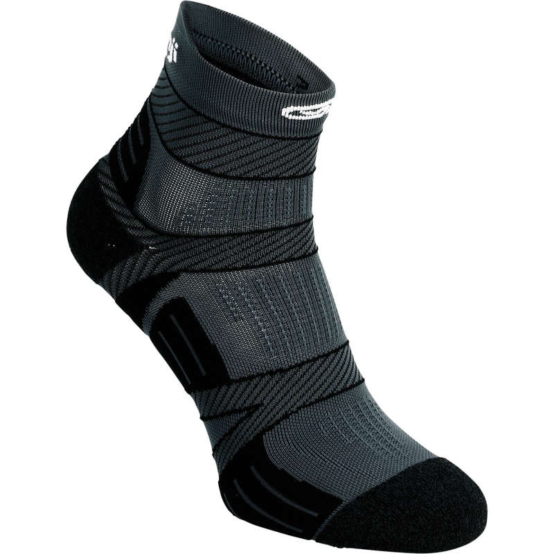 ADULT RUNNING SOCKS Clothing - KIPRUN STRAP THIN SOCKS KIPRUN - By Sport