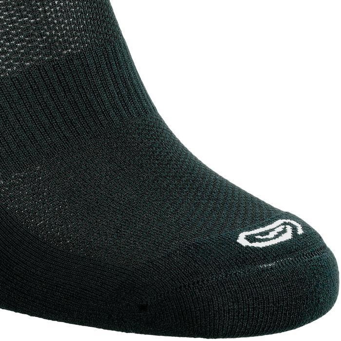 Onzichtbare sokken Comfort zwart x2