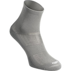 COMFORT MID-HEIGHT RUNNING SOCKS 2-pack - GREY