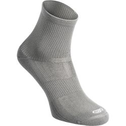 CALCETINES ADULTOS RUNNING CONFORT MID X2 GRIS