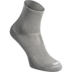 Hoge sokken comfort 2 paar grijs
