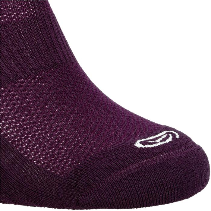 Laufsocken Komfort 2er-Pack violett/pflaume