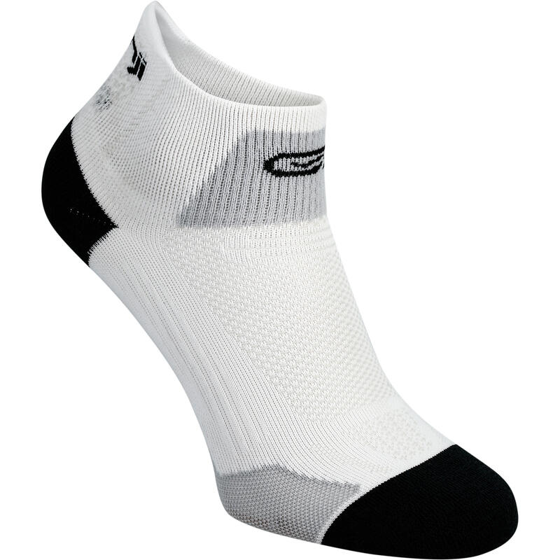 RUNNING MID-HEIGHT FINE SOCKS KIPRUN - WHITE