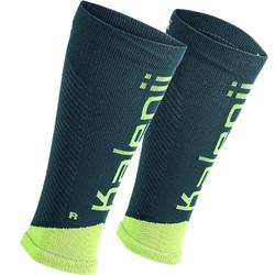 RUNNING COMPRESSION SLEEVES - PETROL BLUE