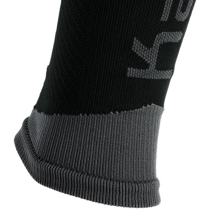Beinlinge Kiprun Kompression Laufen schwarz