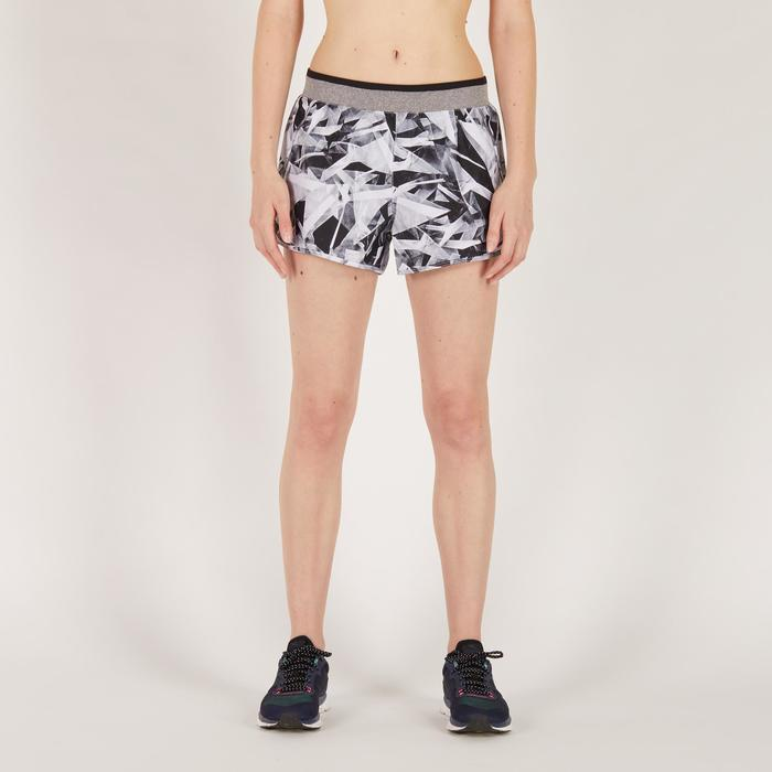 Short fitness cardio-training femme noir 100 - 1270731