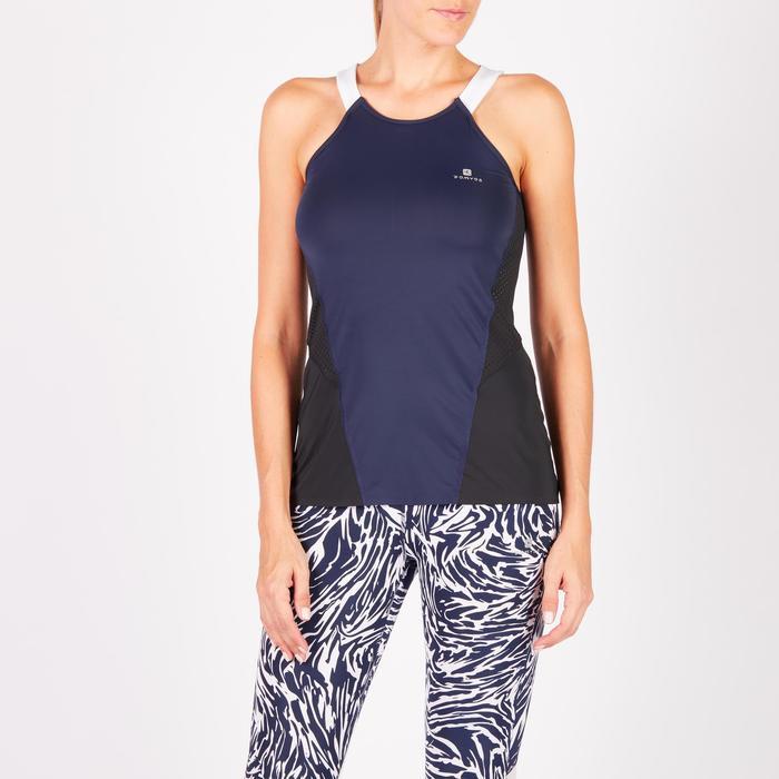 Débardeur fitness cardio femme 900 Domyos - 1270750