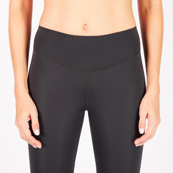 7/8-legging 900 cardiofitness dames zwart