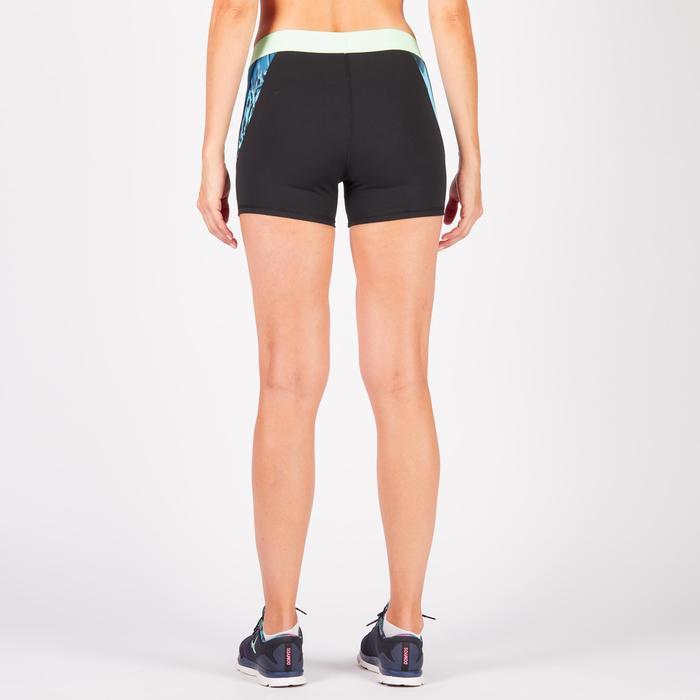 Short fitness cardio femme à imprimé tropical rose 500 Domyos - 1270812