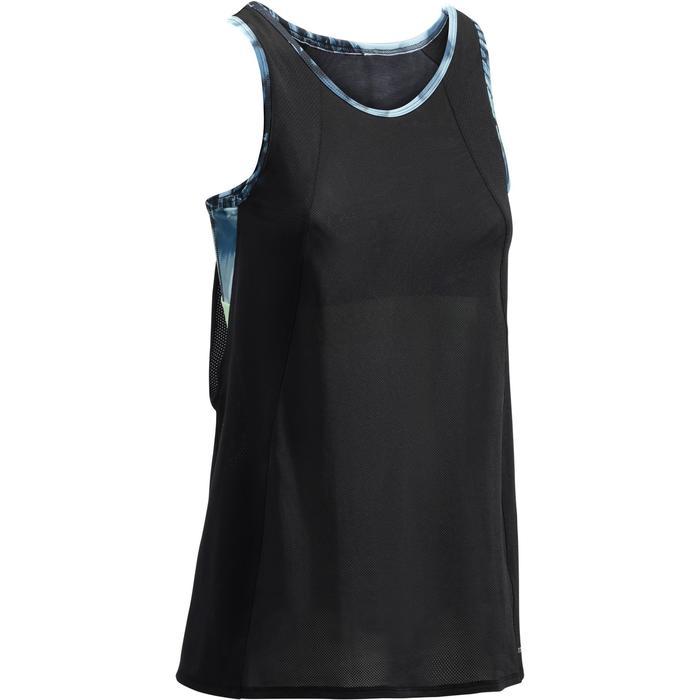 Débardeur brassière intégrée fitness cardio femme 500 Domyos - 1270941