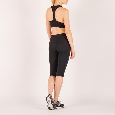 100 Sports Bra Fitnes Kardio Wanita - Hitam