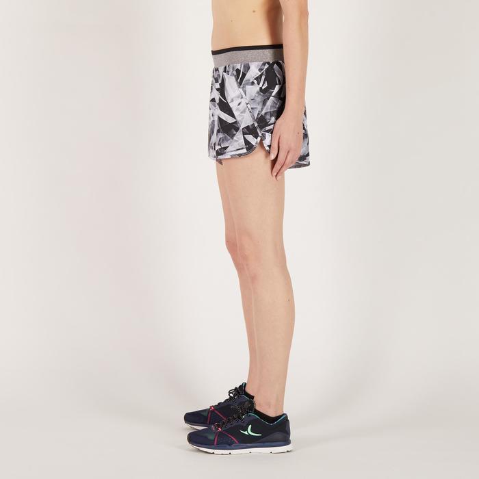 Short fitness cardio-training femme noir 100 - 1270962