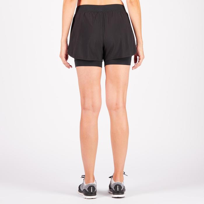 Short 2 en 1 fitness cardio-training femme 900 - 1270993