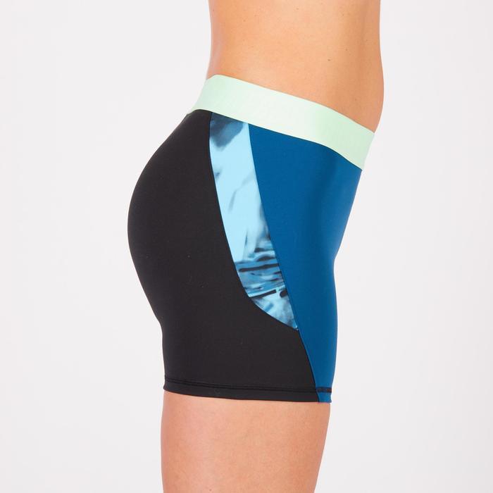 Short fitness cardio femme à imprimé tropical rose 500 Domyos - 1270998