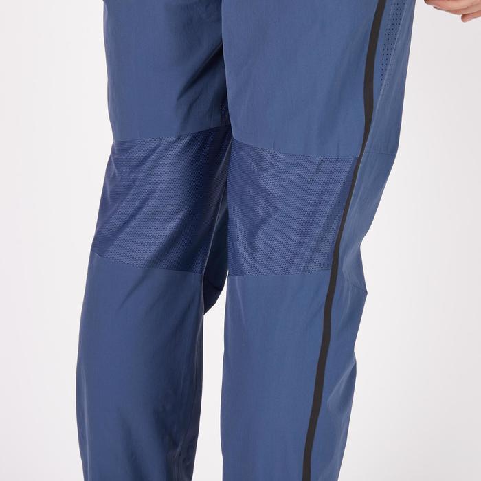 Fitnessbroek cardio heren FPA900 blauw/grijs