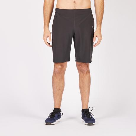 sporthose kurz 900 fitness cardio herren schwarz domyos. Black Bedroom Furniture Sets. Home Design Ideas