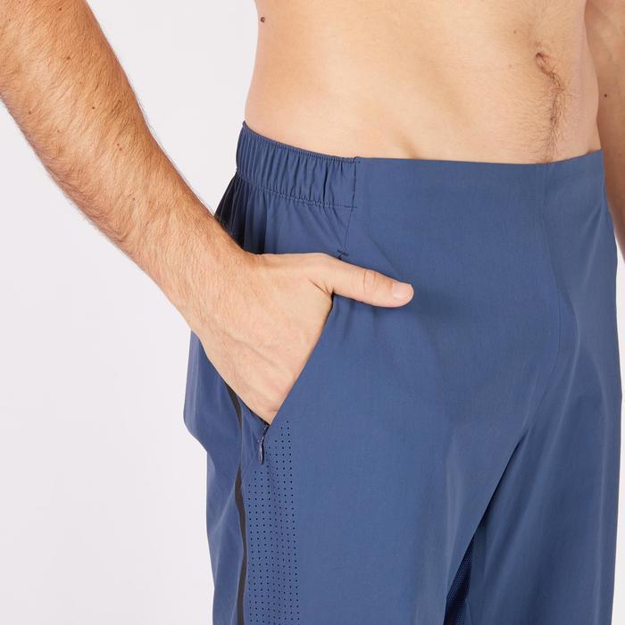 Pantalon fitness cardio homme noir FPA900 - 1271143