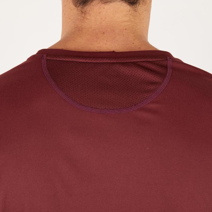 T-shirt fitness cardio homme noir imprimé FTS 120 - 1271189
