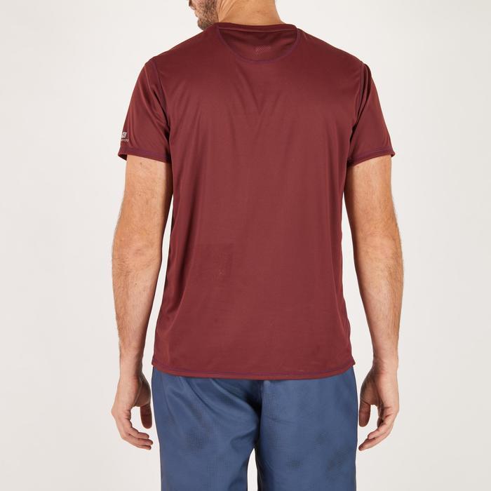 T-shirt fitness cardio homme noir imprimé FTS 120 - 1271205