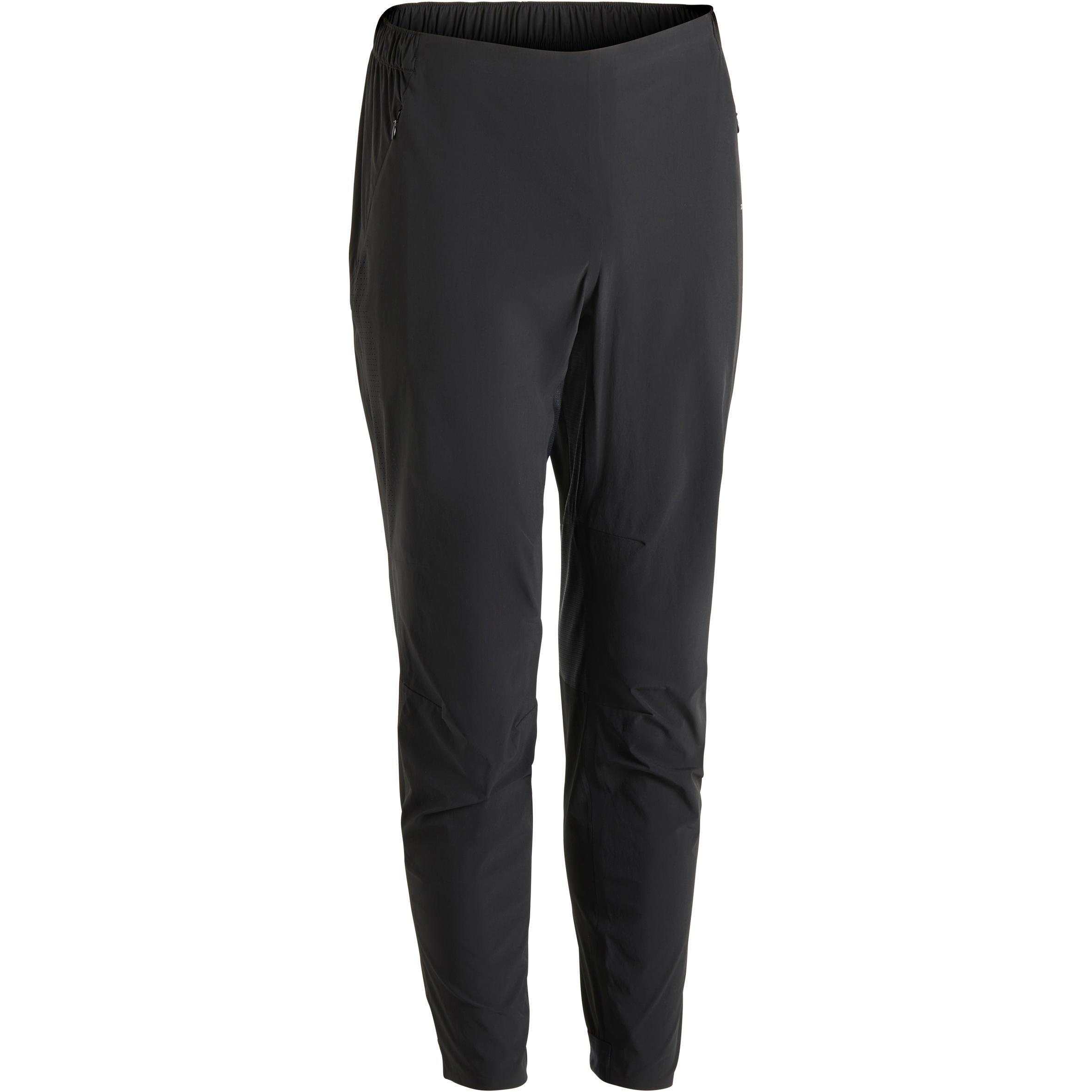 Pants fitness cardio hombre negro FPA900