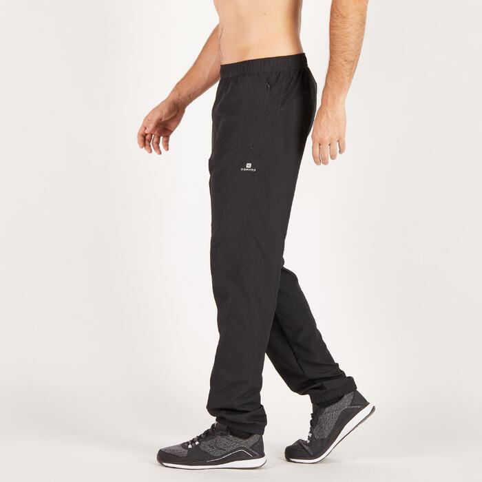 Pantalon cardio fitness homme noir FPA120