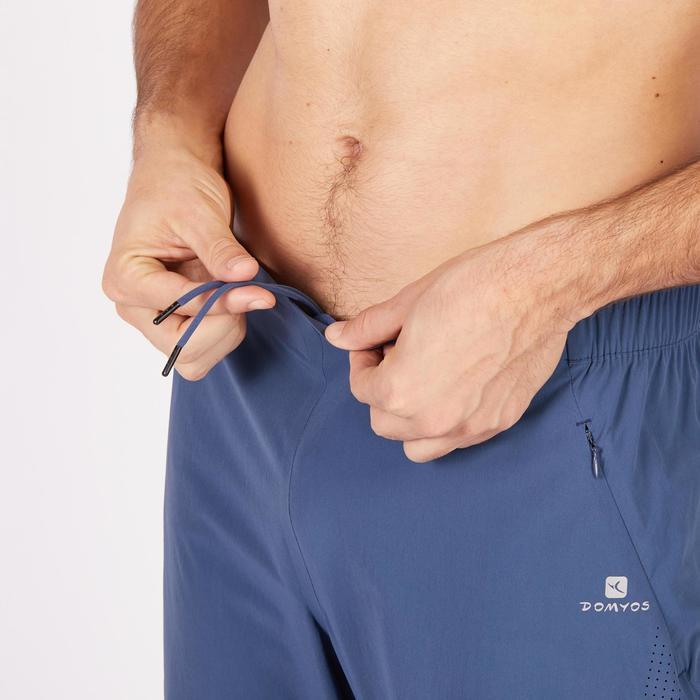 Pantalon fitness cardio homme noir FPA900 - 1271231