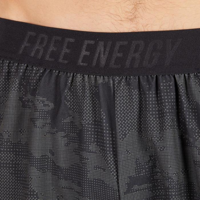 Short fitness cardio homme noir kaki FST520 - 1271238