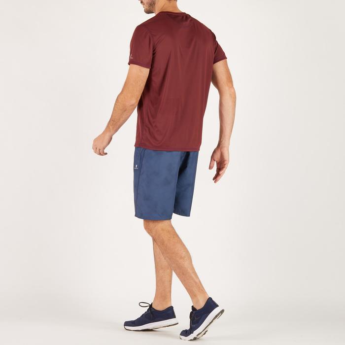 T-shirt fitness cardio homme noir imprimé FTS 120 - 1271243