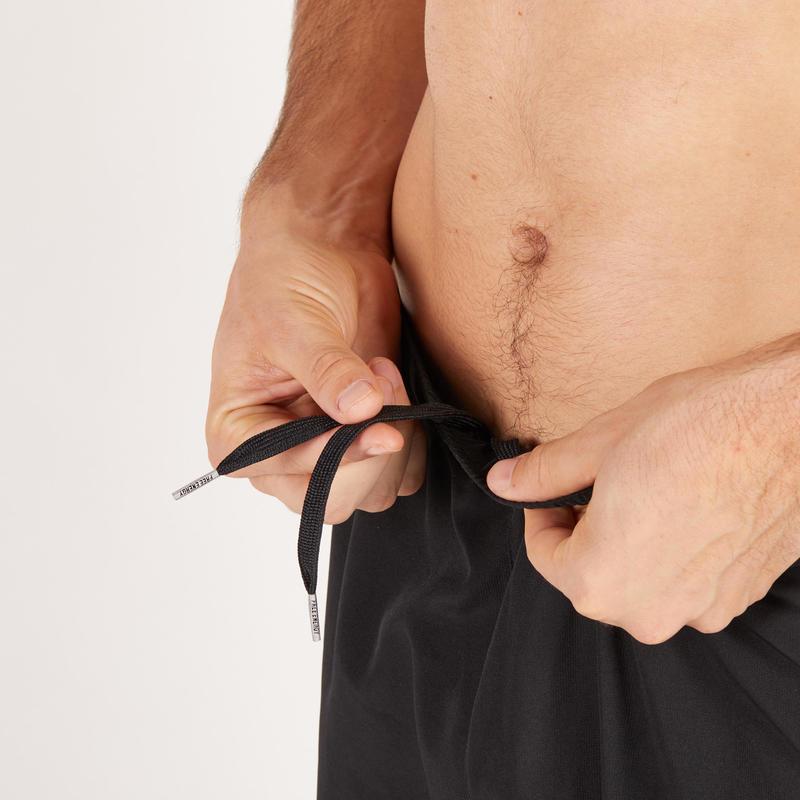 Men's 2 Zip Pocket Quick Dry Fitness Pant - Black
