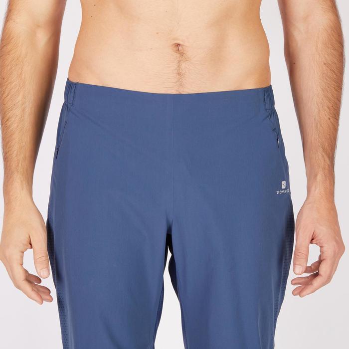 Pantalon fitness cardio homme noir FPA900 - 1271262