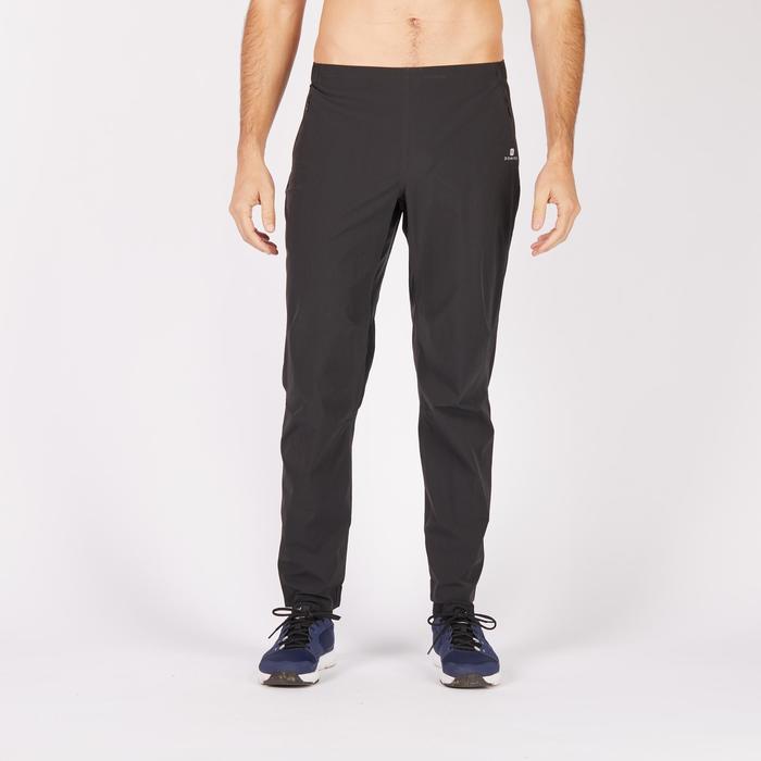 Pantalon fitness cardio homme noir FPA900 - 1271267