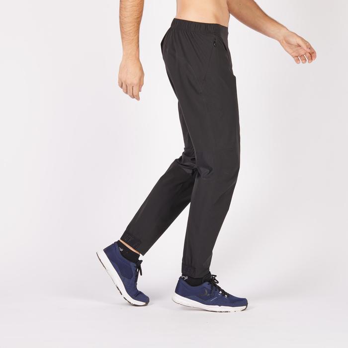 Pantalon fitness cardio homme noir FPA900 - 1271285