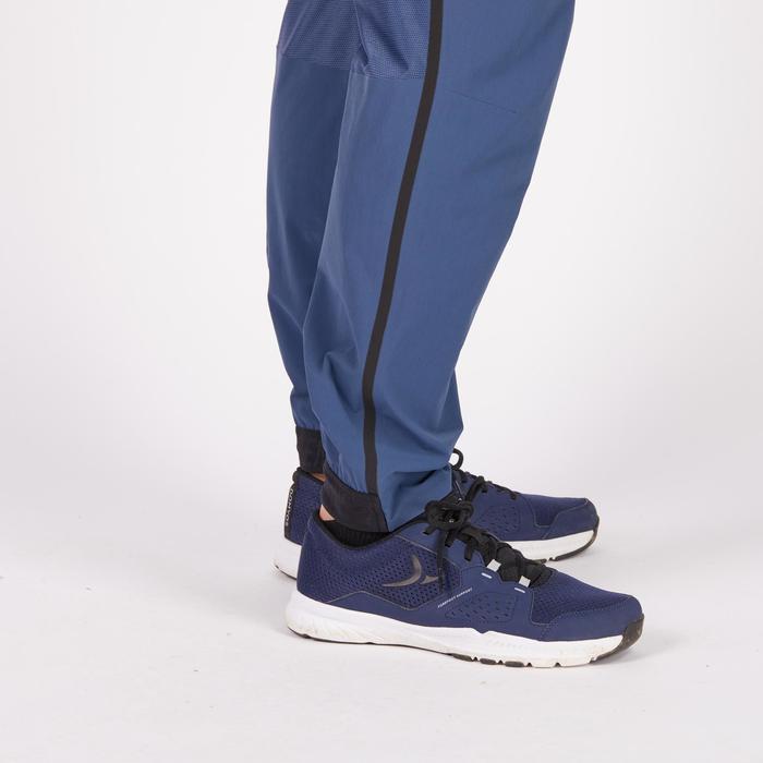 Pantalon fitness cardio homme FPA900 bleu gris