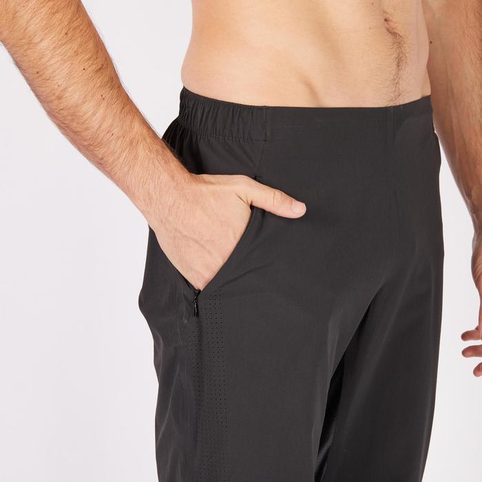Pantalon fitness cardio homme noir FPA900 - 1271349