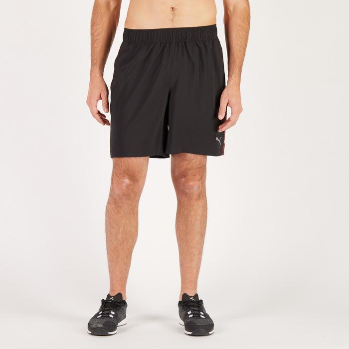 Short  PUMA fitness cardio homme noir rouge E2 - 1271350