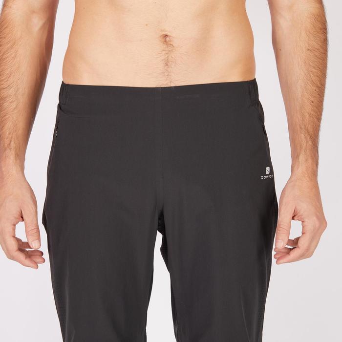 Pantalon fitness cardio homme noir FPA900 - 1271354