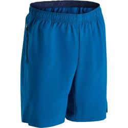 Fitnessshort cardio egaal blauw FST500