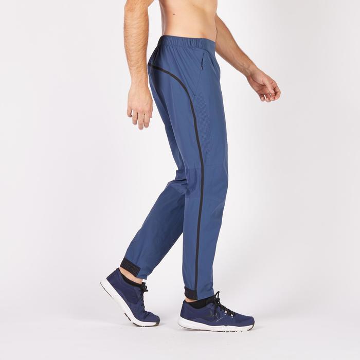 Pantalon fitness cardio homme noir FPA900 - 1271375