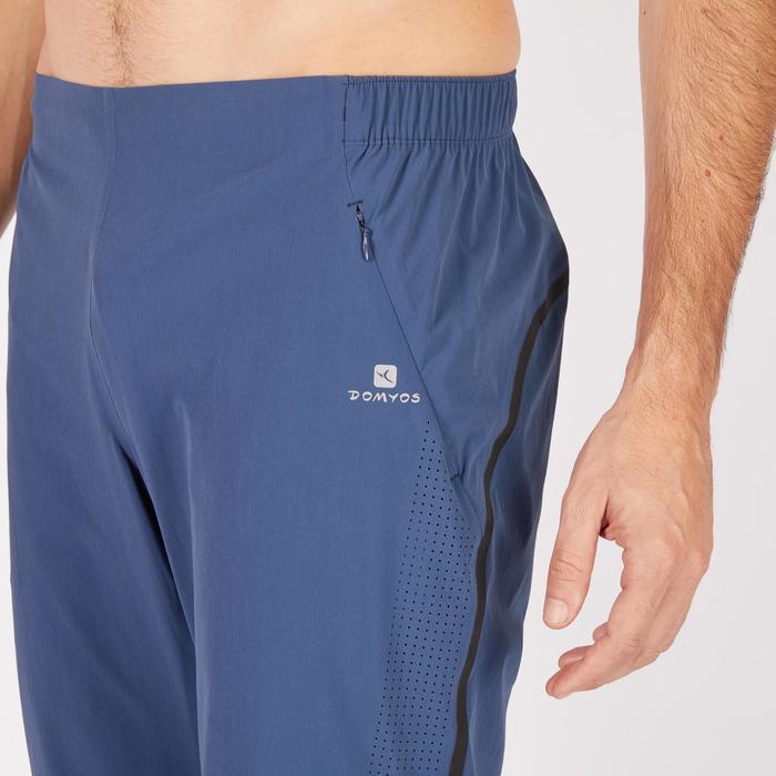 Pantalon fitness cardio homme noir FPA900 - 1271391