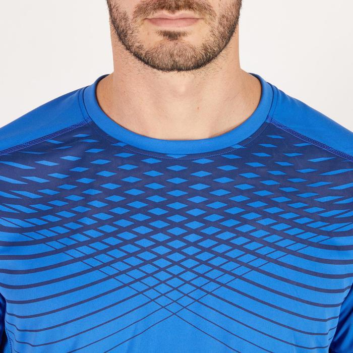 T-shirt fitness cardio homme noir imprimé FTS 120 - 1271408