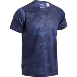 T-shirt Adidas freelift blauw