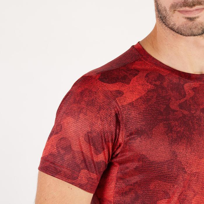 T-shirt ADIDAS freelift rouge - 1271421