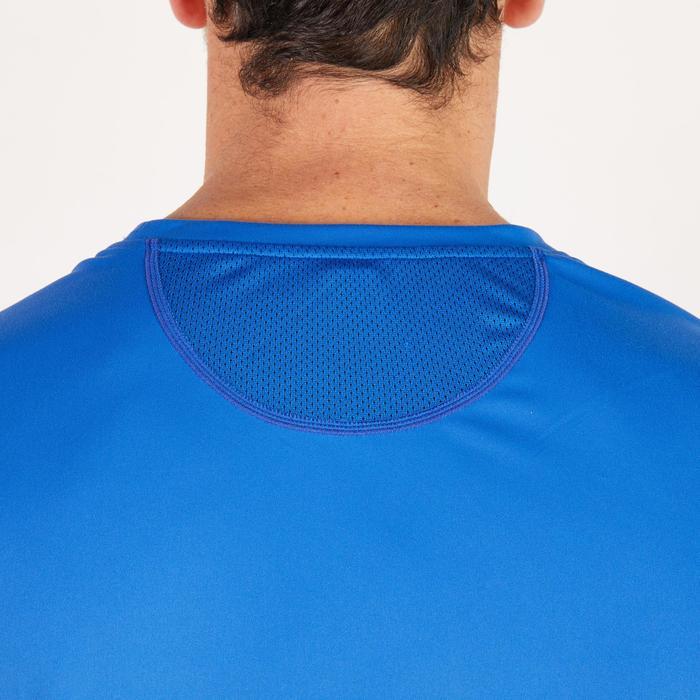 T-shirt fitness cardio homme noir imprimé FTS 120 - 1271429